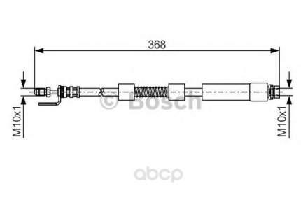 Шланг тормозной Bosch 1987476059