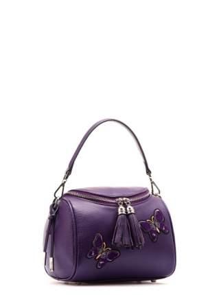 Сумка женская кожаная Eleganzza Z20-1252S-3 фиолетовая