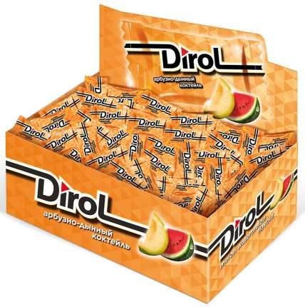 Жевательная резинка Dirol без сахара арбузно-дынный коктейль 272 г