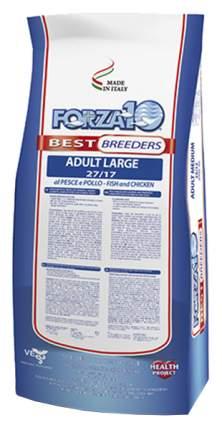 Сухой корм для собак Forza10 Best Breeders Adult Large, курица, рыба, 20кг