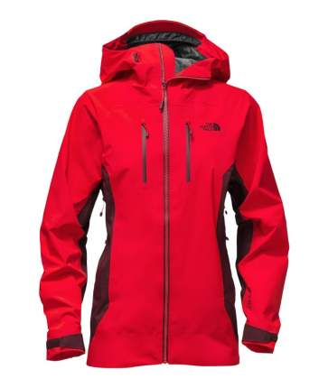 Куртка The North Face Dihedral Shell, red/deep grey, XS INT