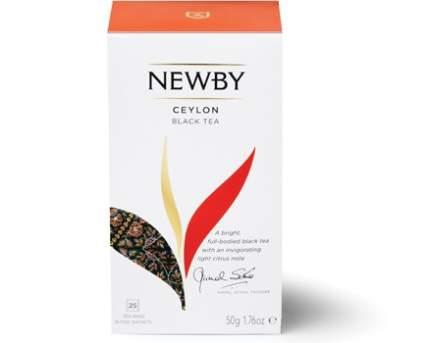 Чай Newby цейлон 25 пакетиков