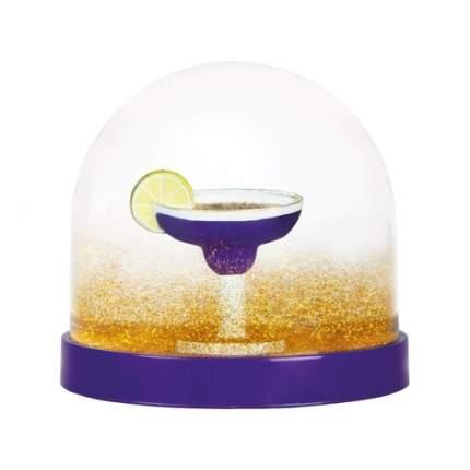 "Снежный шар ""Wonderball cocktail purple"", 8,5 см"