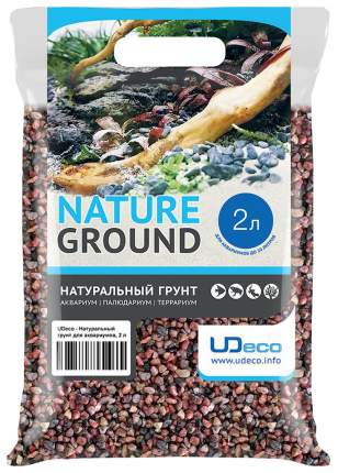 Грунт для аквариума UDeco River Pink 6-8 мм 2 л
