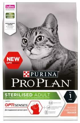 Сухой корм для кошек PRO PLAN Sterilised Optisense, для стерилизованных, лосось, 3кг
