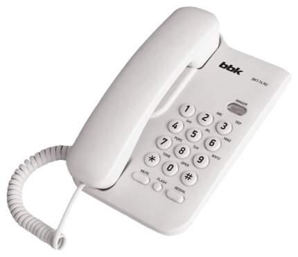 Телефон проводной BBK BKT-74 RU/WH
