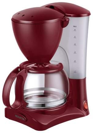 Кофеварка капельного типа MARTA MT-2115 цвет Красный