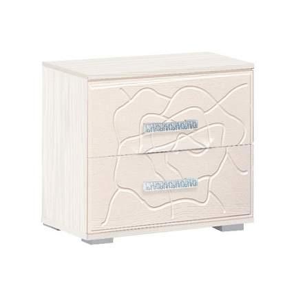Тумба прикроватная приставная Олимп-мебель Розалия 06.41 45,4x39x49,4 см, вудлайн кремовый