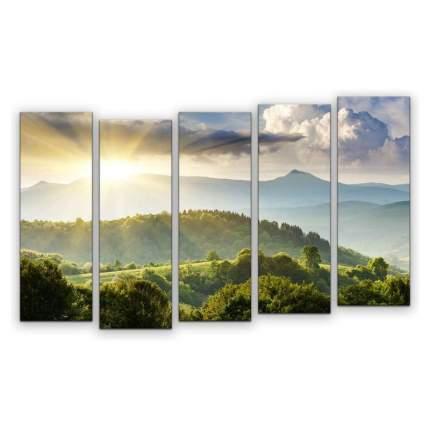 Картина КАРТИНОМАНИЯ Утро в горах АРТ-М861 140x90