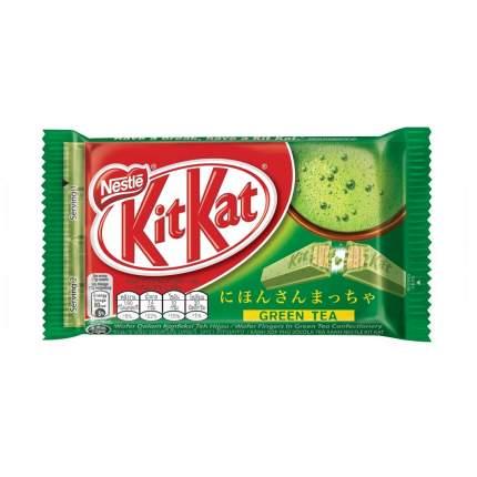 Шоколадный батончик KitKat green tea со вкусом зеленого чая 35 г