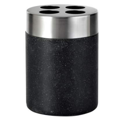 Стаканчик для з/щетки Stone черный