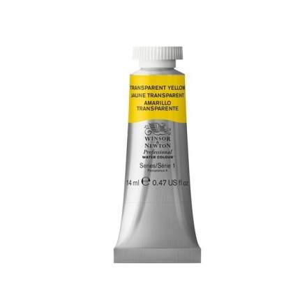 Акварель Winsor&Newton Professional желтый прозрачный 14 мл