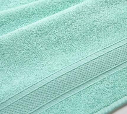 Полотенце махровое с бордюром (мятное) 40х70