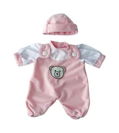 Набор одежды для кукол Miniland Для куклы-девочки 21 см (комбинезон, шапочка)