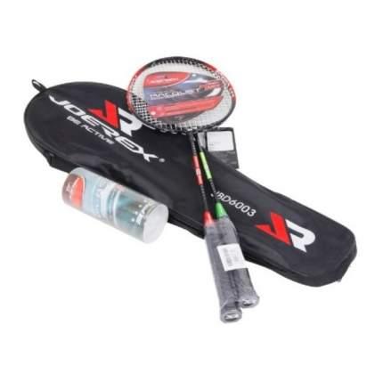 Набор для бадминтона Joerex 6003 JBD 2 ракетки, 3 волана, чехол