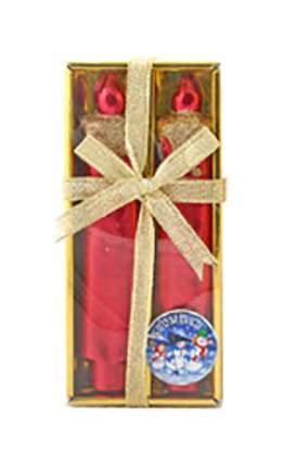 Новогодние свечи Snowmen Е91106 Красный