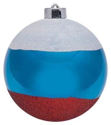 Шар на ель Snowmen Российский флаг Е40336 12 см 1 шт.