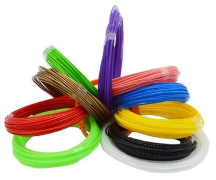 Набор пластика Архисенд ABS для 3D ручек, 10 цветов по 10 метров ABS-10