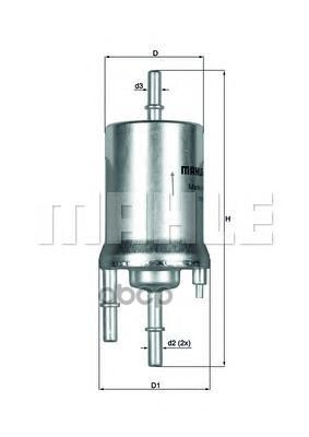 Фильтр топливный Mahle KL 156/1