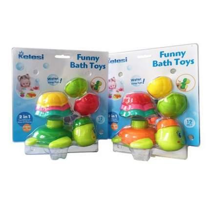 НАША ИГРУШКА Набор игрушек для купания Черепашка, 6 предметов 200240919