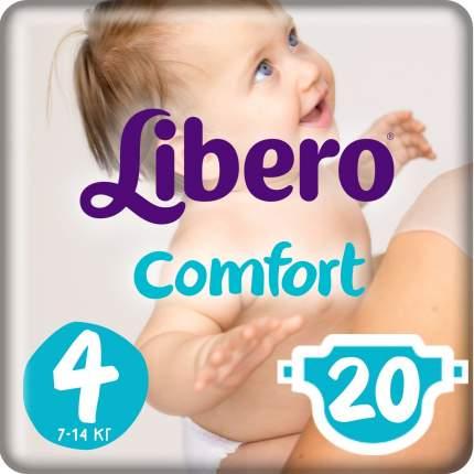 Подгузники Либеро 7-14 кг №4(20шт) ()
