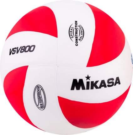Волейбольный мяч Mikasa VSV 800 WR №5 red/white