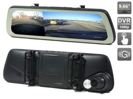 Зеркало заднего вида AVS0740DVR со встроенным монитором 9.66
