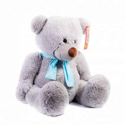 Мягкая игрушка Нижегородская игрушка Медведь средний пузатый в шарфе 60 см