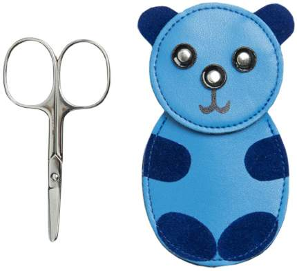 Ножницы маникюрные Kuchenland Touch Kids 100 мм Голубой футляр