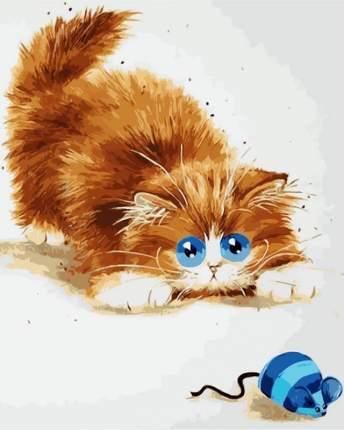 """Картина по номерам ME1073 """"Кошки - мышки"""""""