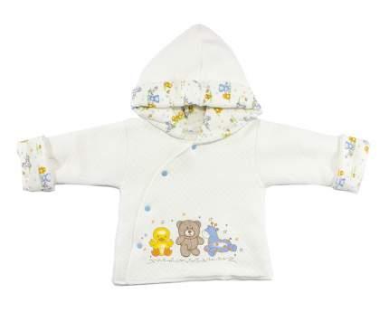 Куртка для девочек Осьминожка Т-3125В-20/62 белый р.62