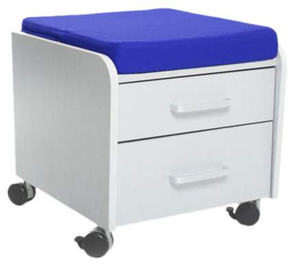 Тумбочка Comf-Pro BD-C2 (цвет обивки: синий, цвет каркаса: серый, цвет товара: серый)