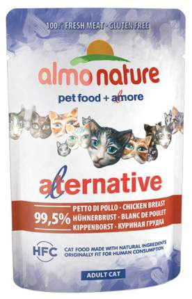 Влажный корм для кошек Almo Nature HFC Alternative 99,5%, курица, 24шт, 55г