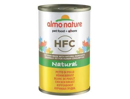 Консервы для кошек Almo Nature HFC Natural, курица, 24шт, 140г