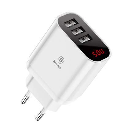 Сетевое зарядное устройство Baseus Mirror Lake 3 USB 3,4A EU White