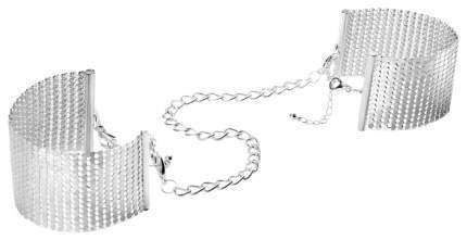 Наручники-браслеты Bijoux Indiscrets Desir Metallique Handcuffs серебристый