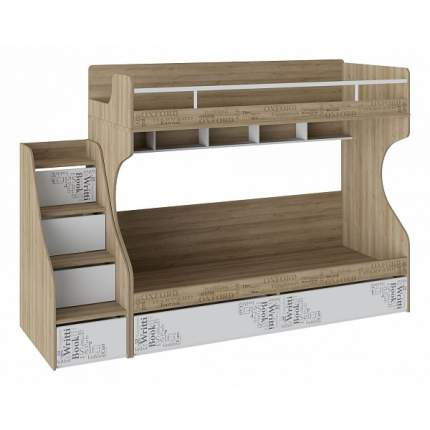 Кровать двухъярусная Оксфорд СМ-139.11.012
