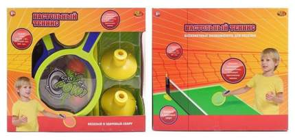 Теннис настольный ABtoys S-00157 в наборе с сеткой, ракеткой, шариками