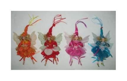 Мягкая игрушка Snowmen Новогодняя фея 20 см Е80166