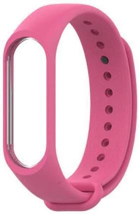 Сменный ремешок для Хiaomi Mi Band 3/4 Silicon Pink