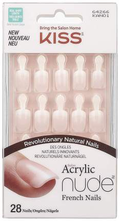 Накладные ногти Kiss Salon Acrylic Nude Nails