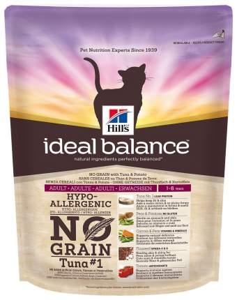 Сухой корм для кошек Hills Ideal Balance No Grain, тунец и картофель, 0,3кг