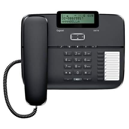 Телефон проводной Gigaset DA710 Black