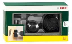 Коронка универсальная для дрелей, шуруповертов Bosch 22-68 мм 2607019450