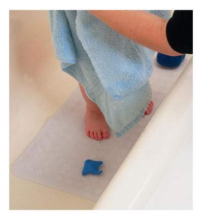 Коврик для ванны, цвет белый; полиуретан