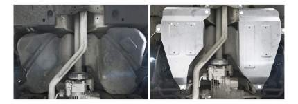 Защита бензобака АвтоБРОНЯ для Volkswagen (111.05846.1)