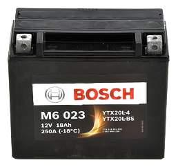 Аккумулятор автомобильный автомобильный Bosch Funstart AGM 0 092 M60 230 18 Ач