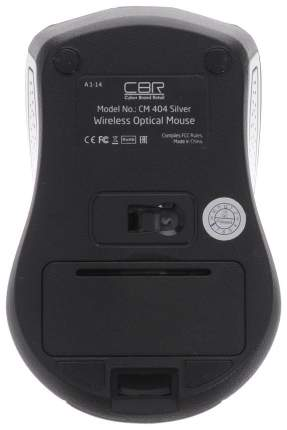 Мышь беспроводная CBR CM 404 Silver USB
