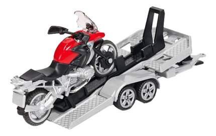 Набор Siku Машина с прицепом и Мотоциклом
