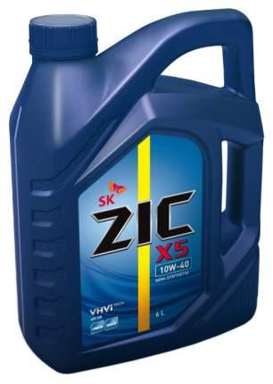 Моторное масло ZIC 10w40 6л